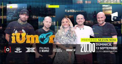 iUmor – Sezonul 9 Episodul 7 – 25 Octombrie 2020 Online